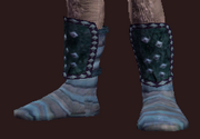 Manatouched Scholar's Shoes (Equipped)
