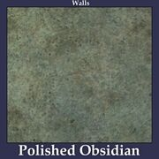 Walls Polished Obsidian
