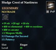 Sludge Crest of Nastiness