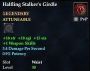 Halfling Stalker's Girdle