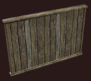 Plain elm room divider (Visible)