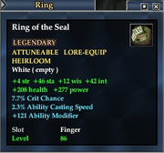 Ring of the Seal