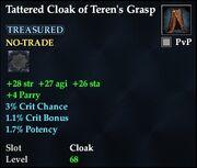 Tattered Cloak of Teren's Grasp