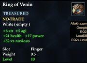 Ring of Venin