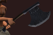Gurrekt's Axe (Equipped)