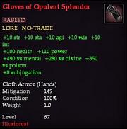 Gloves of Opulent Splendor