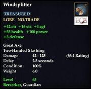 Windsplitter