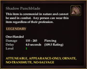 Shadow Punchblade