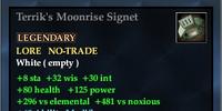 Terrik's Moonrise Signet