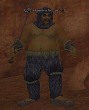 A Kromtorr lieutenant