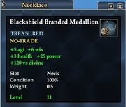 Blackshield Branded Medallion