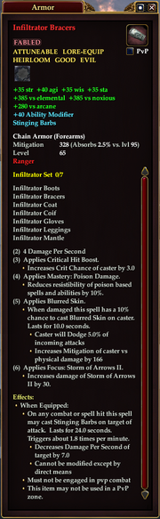 Infiltrator Bracers