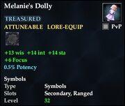 Melanie's Dolly