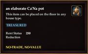An elaborate Ca'Na pot