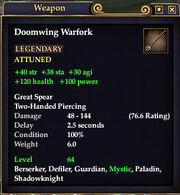 Doomwing Warfork
