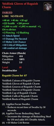 Voidlink Gloves of Roguish Charm