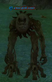 A treespirit scryer