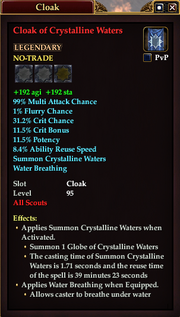 Cloak of Crystalline Waters (Scout)