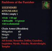 Pauldrons of the Punisher