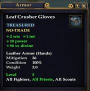 Leaf Crusher Gloves