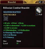 Rilissian Combat Bracelet