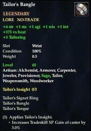 Tailor's Bangle