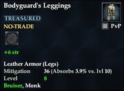 Bodyguard's Leggings