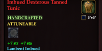 Imbued Dexterous Tanned Tunic