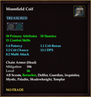 Moonfield Coif