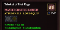 Trinket of Hot Rage