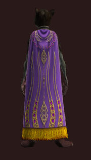 Asharaes Cloak Equipped