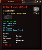 Ry'Gorr Buckler of Blood