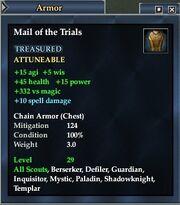 Mail trials