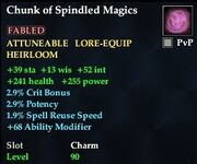 Chunk of Spindled Magics