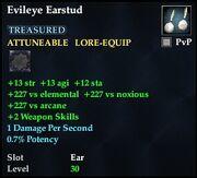 Evileye Earstud