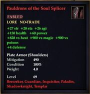 Pauldrons of the Soul Splicer