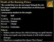 Wrath of the Burning Prince