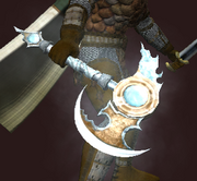 Glacierbane Axe (visible)