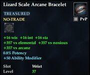 Lizard Scale Arcane Bracelet