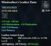Windwalker's Leather Pants
