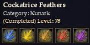 Kunark-Cockatrice Feathers