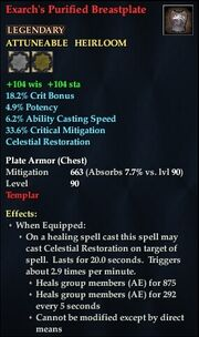 Exarch's Purified Breastplate