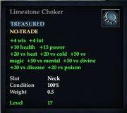 Limestone Choker