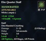 Elm Quarter Staff