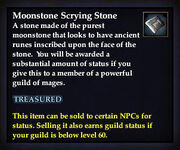 Moonstone Scrying Stone