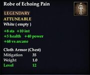 Robe of Echoing Pain