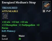 Energized Medium's Strap