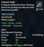 Glacial Staff