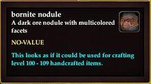 Bornite nodule