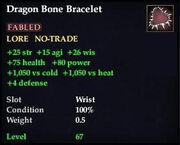 Dragon Bone Bracelet